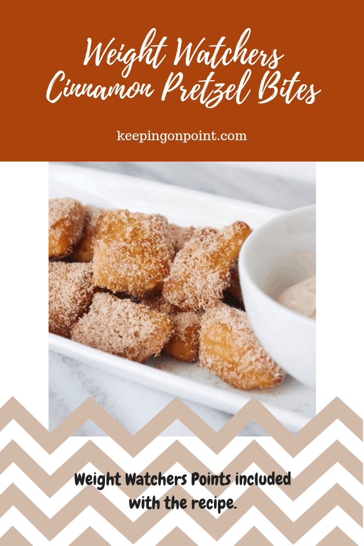 Weight Watchers Cinnamon Pretzel Bites