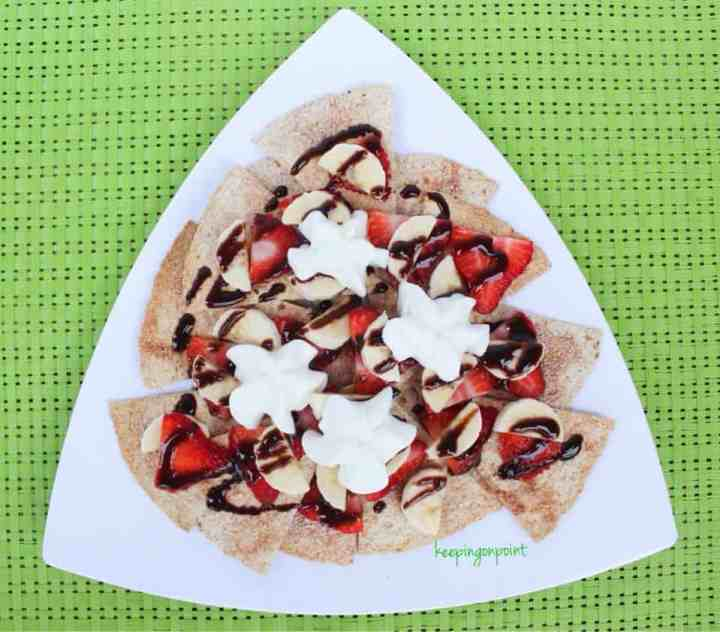 Weight Watchers Dessert Nachos 3