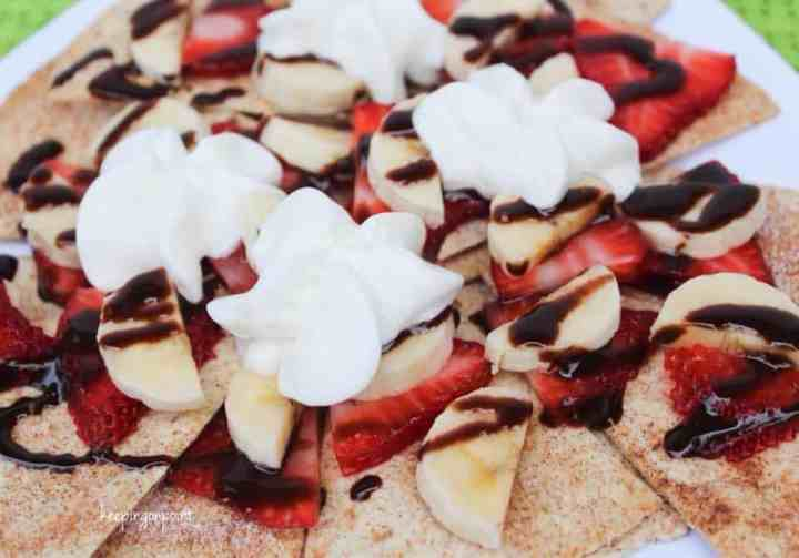 Weight Watchers Dessert Nachos