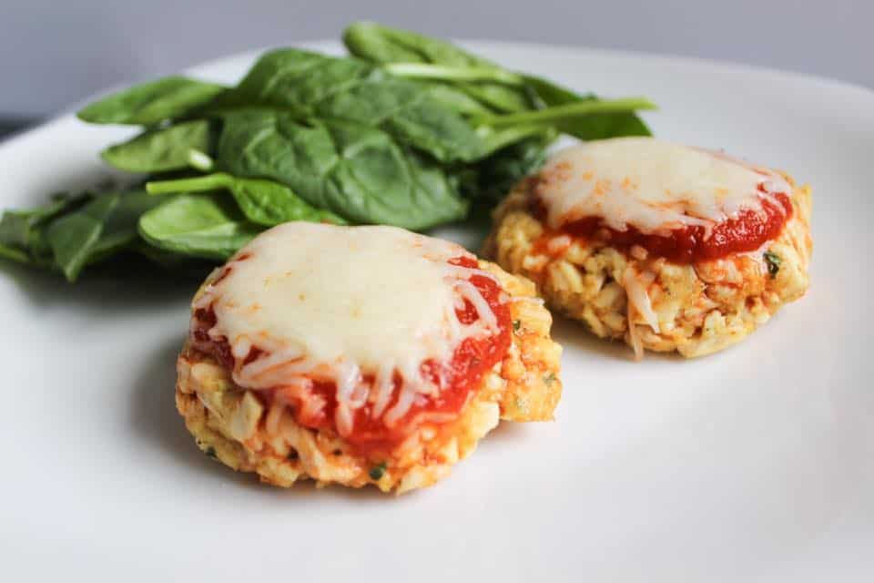 Chicken Parmesan Cakes - Weight Watchers Freestyle