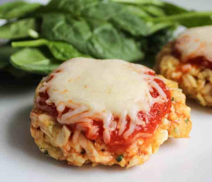 Weight Watchers Freestyle Chicken Parmesan Cakes