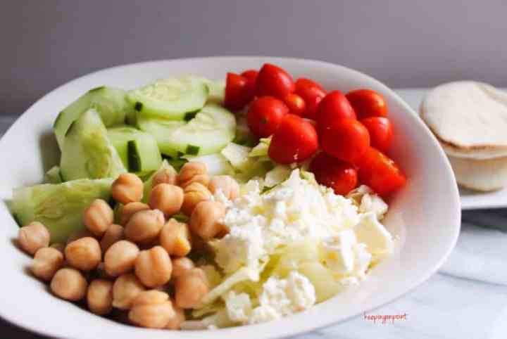 Weight Watchers Freestyle Greek Salad 4