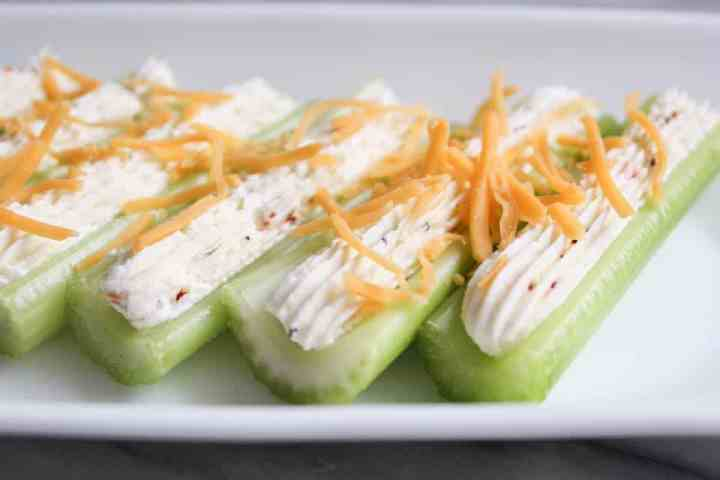 Weight Watchers Freestyle Stuffed Celery 2