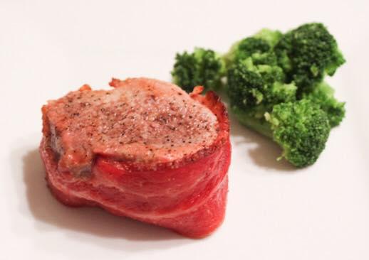 Weight Watchers Freestyle Bacon Wrapped Pork Tenderloin