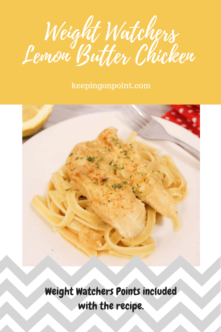 Weight Watchers Freestyle Lemon Butter Chicken