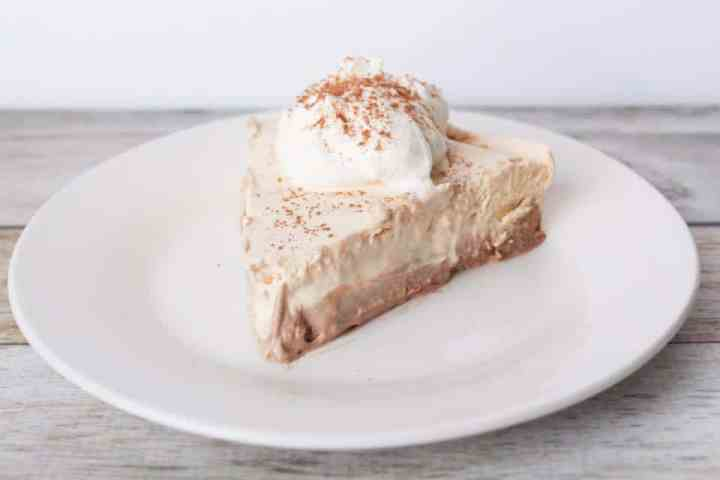 Weight Watchers Freestyle chocolate peanut butter no bake cheesecake