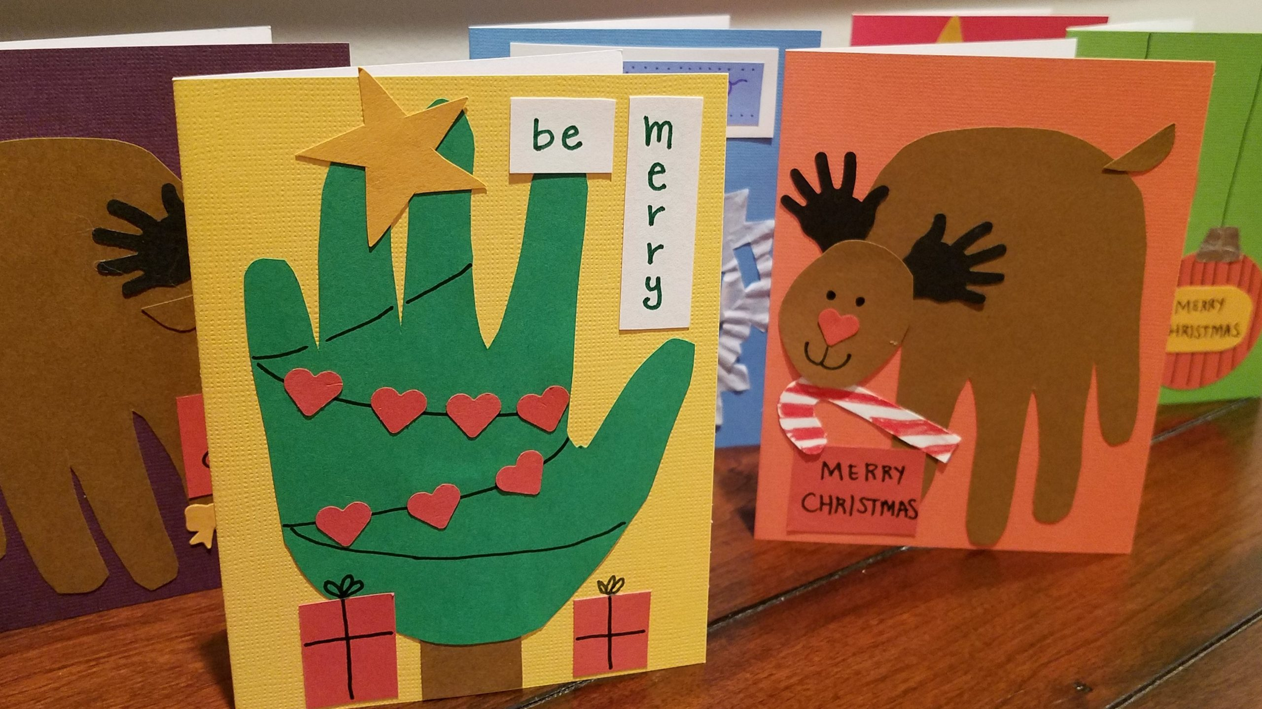 Holiday craft project: Handmade Christmas cards