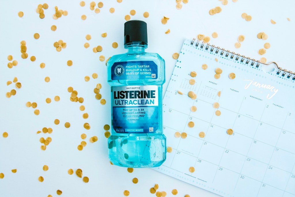 21 Days with Listerine: New Year, New Mouth #ad