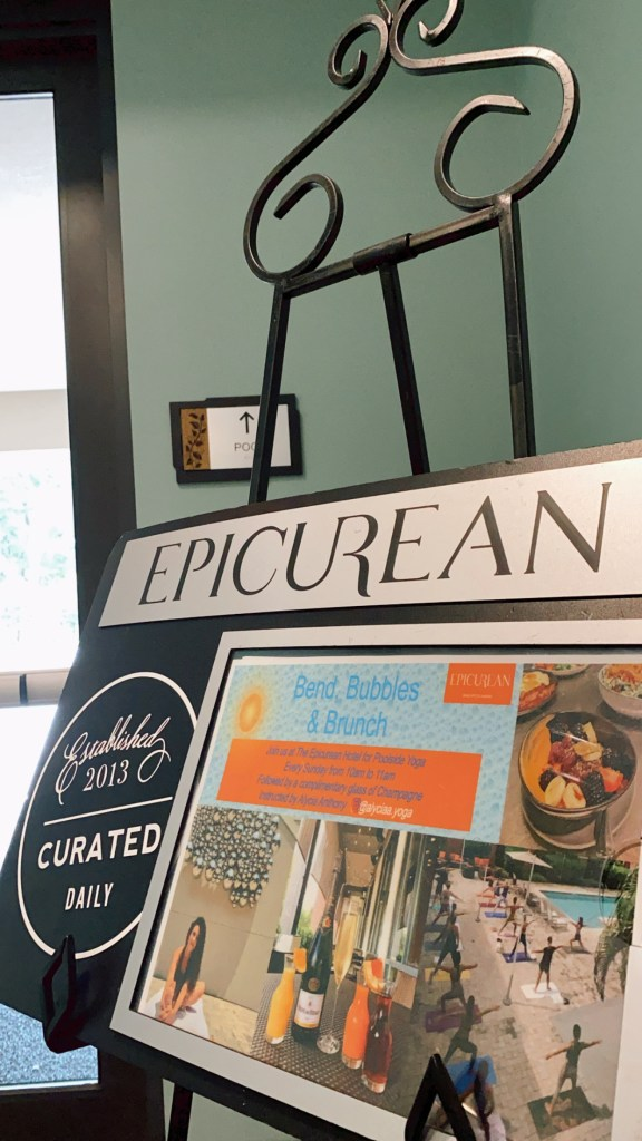 Sharing my experience at the Bend, Bubbles, and Brunch experience at The Epicurean Hotel in Tampa, Florida.