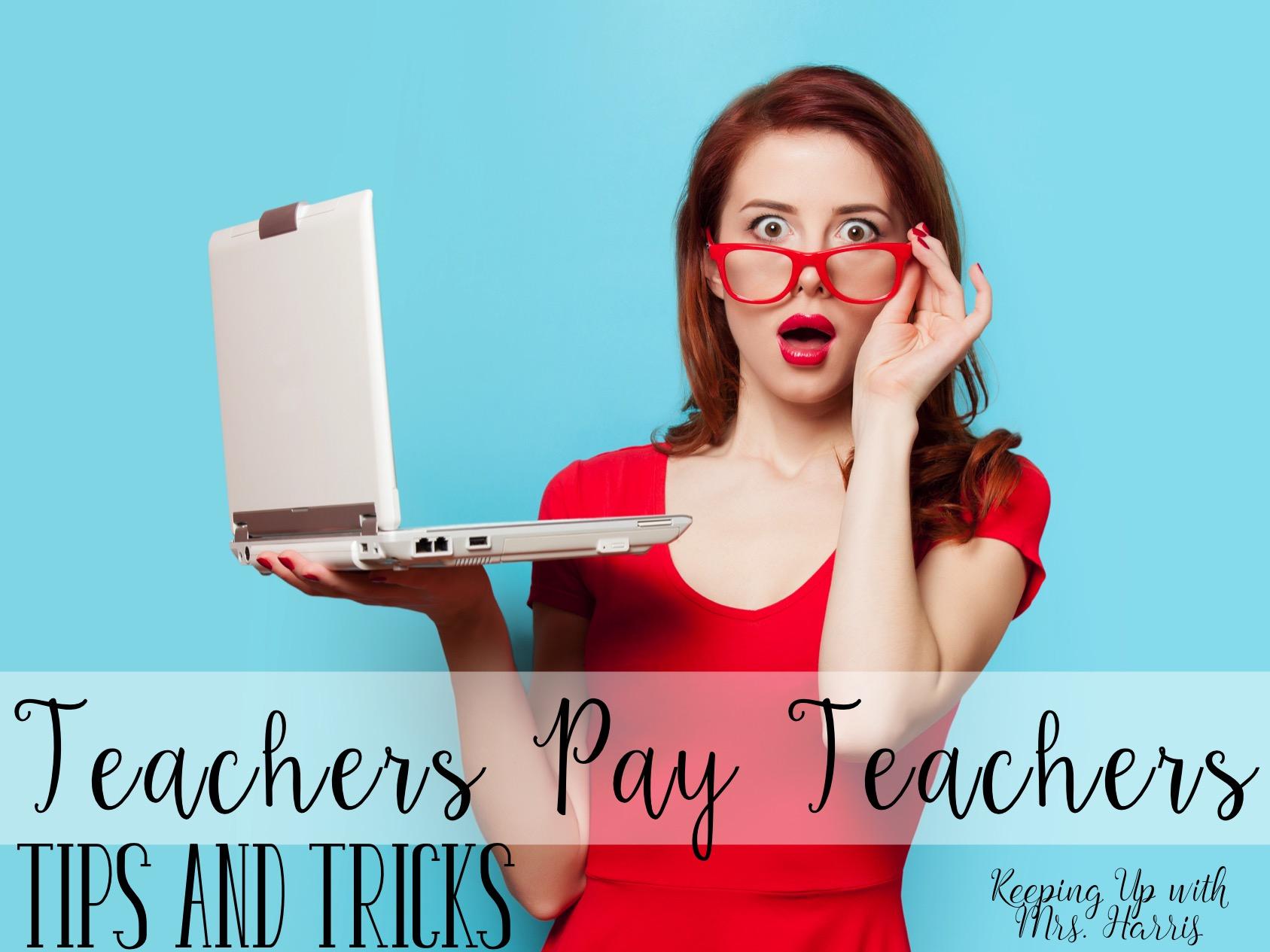 Teachers Pay Teachers Tips And Tricks