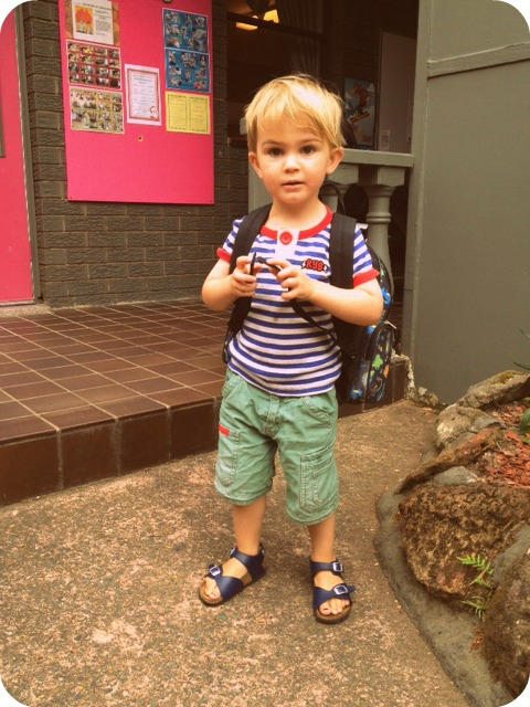 Dex first day of school