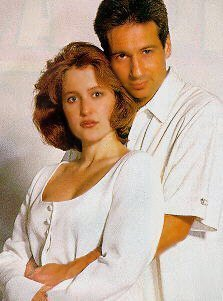 He's obviously trying to hide the holes..... onto you, Mulder.