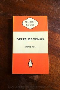 Delta Of Venus - Anais Nin - Book Laid on Wooden Table - Keeping Up With The Penguins