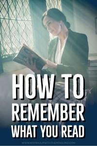 How To Remember What You Read - Keeping Up With The Penguins