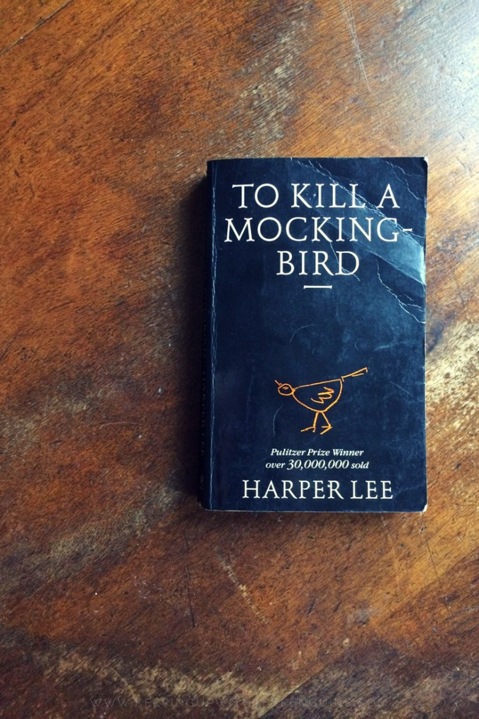 To Kill A Mockingbird - Harper Lee - Book laid on a wooden table - Keeping Up With The Penguins