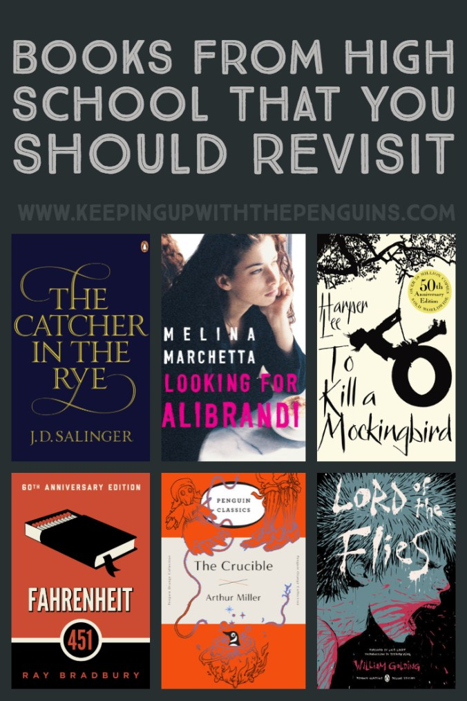 Books From High School That You Should Revisit - The Catcher in the Rye, Looking for Alibrandi, To Kill A Mockingbird, Fahrenheit 451, and more - Keeping Up With The Penguins