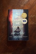 All The Light We Cannot See - Anthony Doerr - Book Laid On Wooden Table - Keeping Up With The Penguins