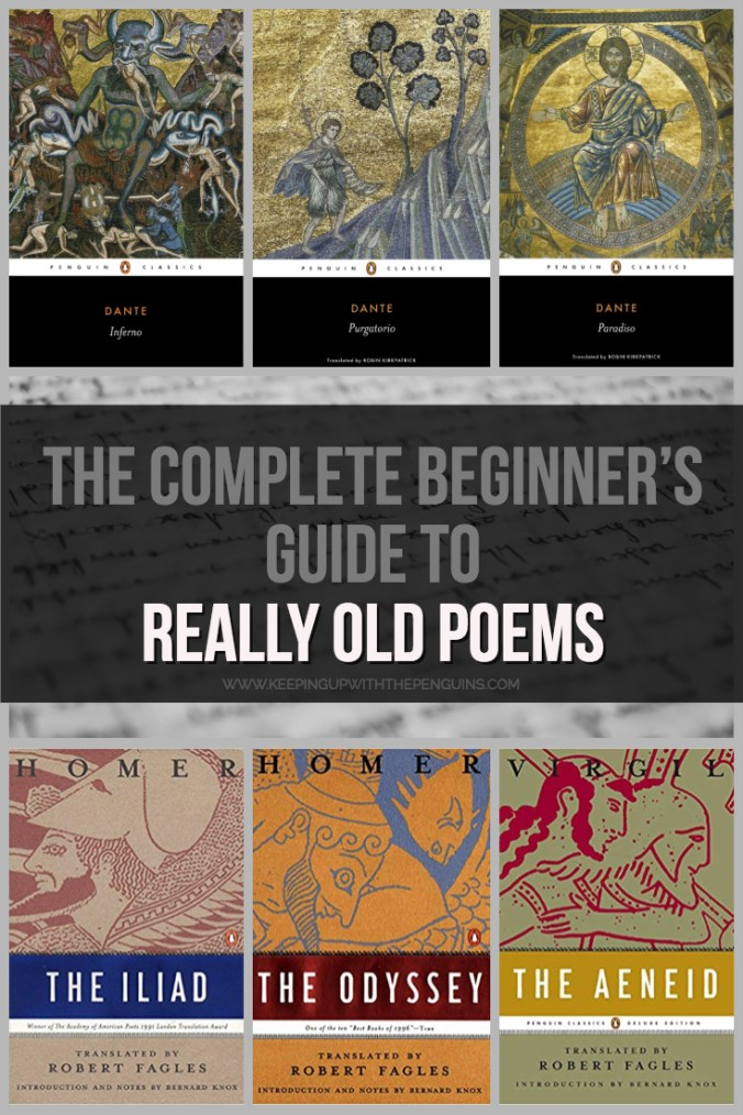 The Complete Beginner's Guide To Really Old Poems - Text and Book Covers - Keeping Up With The Penguins