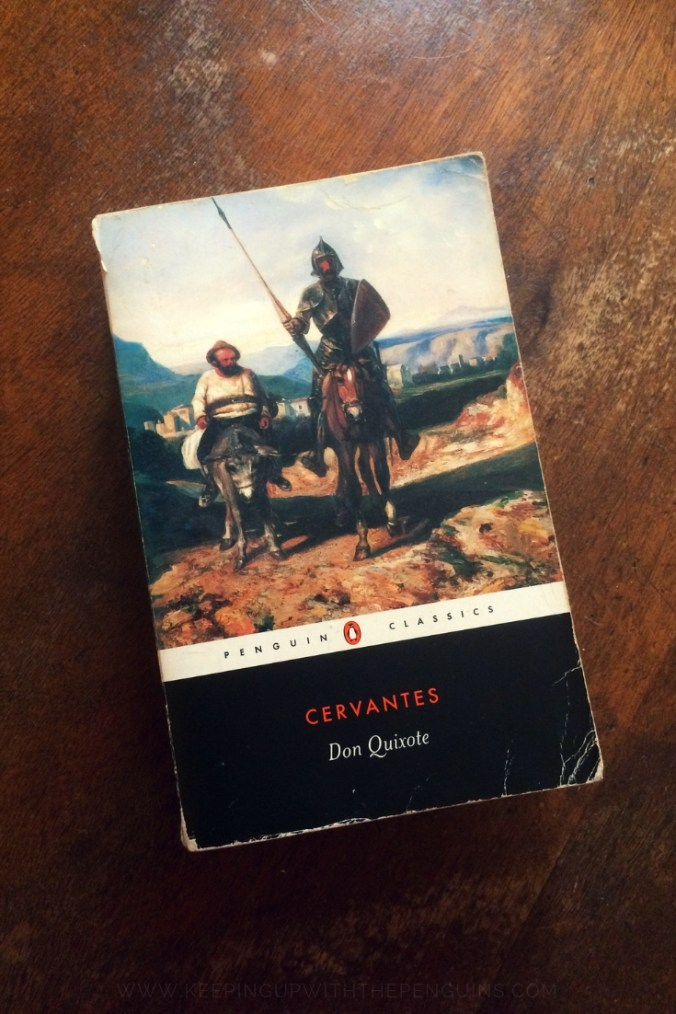 Don Quixote - Miguel de Cervantes - Book Laid on Wooden Table - Keeping Up With The Penguins