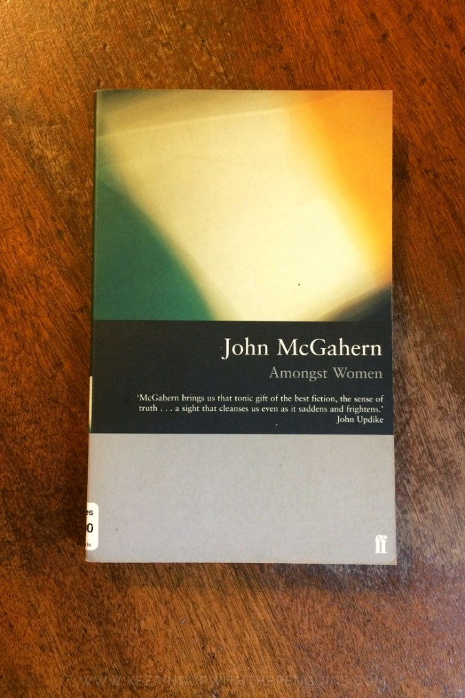 Amongst Women - John McGahern - Book Laid on Wooden Table - Keeping Up With The Penguins