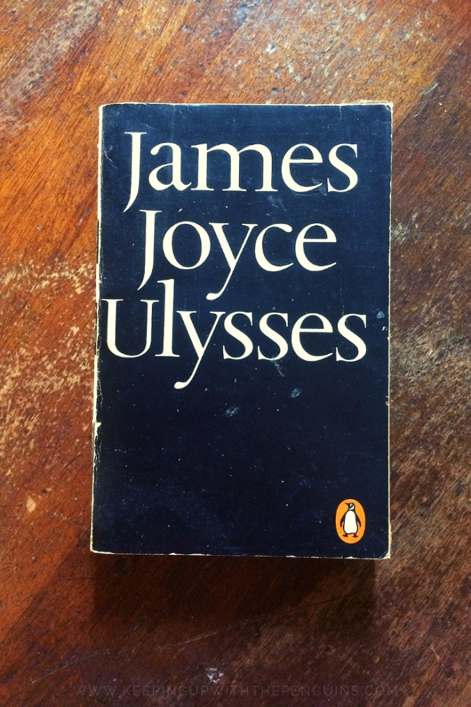 Ulysses - James Joyce - Book Laid on Wooden Table - Keeping Up With The Penguins