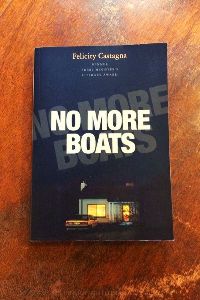 No More Boats - Felicity Castagna - Book Laid on Wooden Table - Keeping Up With The Penguins