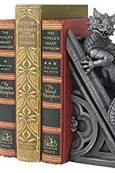 Gothic Dragon Book Ends - Keeping Up With The Penguins