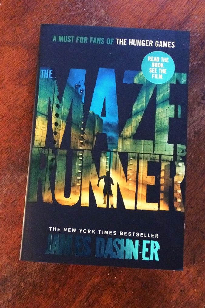 The Maze Runner - James Dashner - Book Laid on Wooden Table - Keeping Up With The Penguins