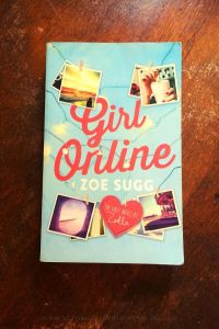 Girl Online - Zoe Sugg - Book Laid on Wooden Table - Keeping Up With The Penguins