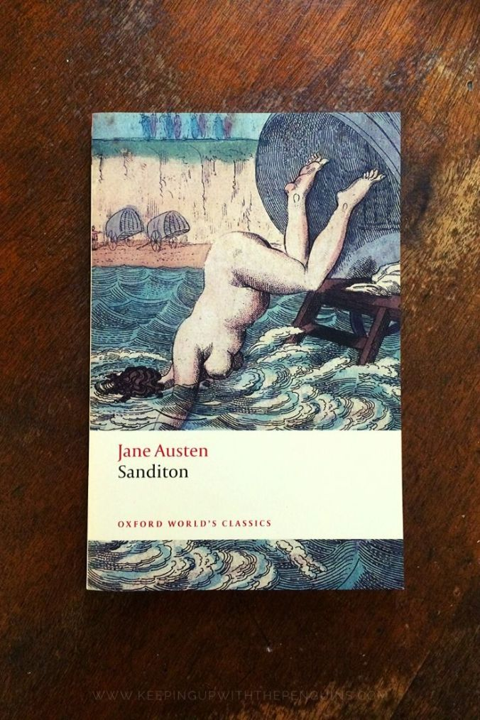 Sanditon - Jane Austen - Book Laid on Wooden Table - Keeping Up With the Penguins