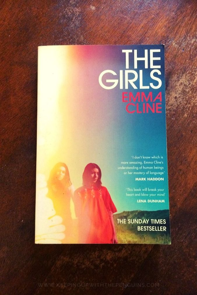 The Girls - Emma Cline - Book Laid on Wooden Table - Keeping Up With The Penguins