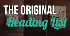 The Original Reading List - Text Overlaid on Collage of Book Covers - Keeping Up With The Penguins
