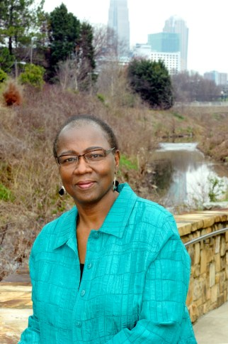 Mae Israel, at Little Sugar Creek Greenway, Photo: Nancy Pierce