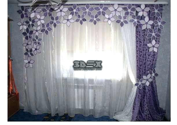 Unique Curtains Design For Lovely House Ambient
