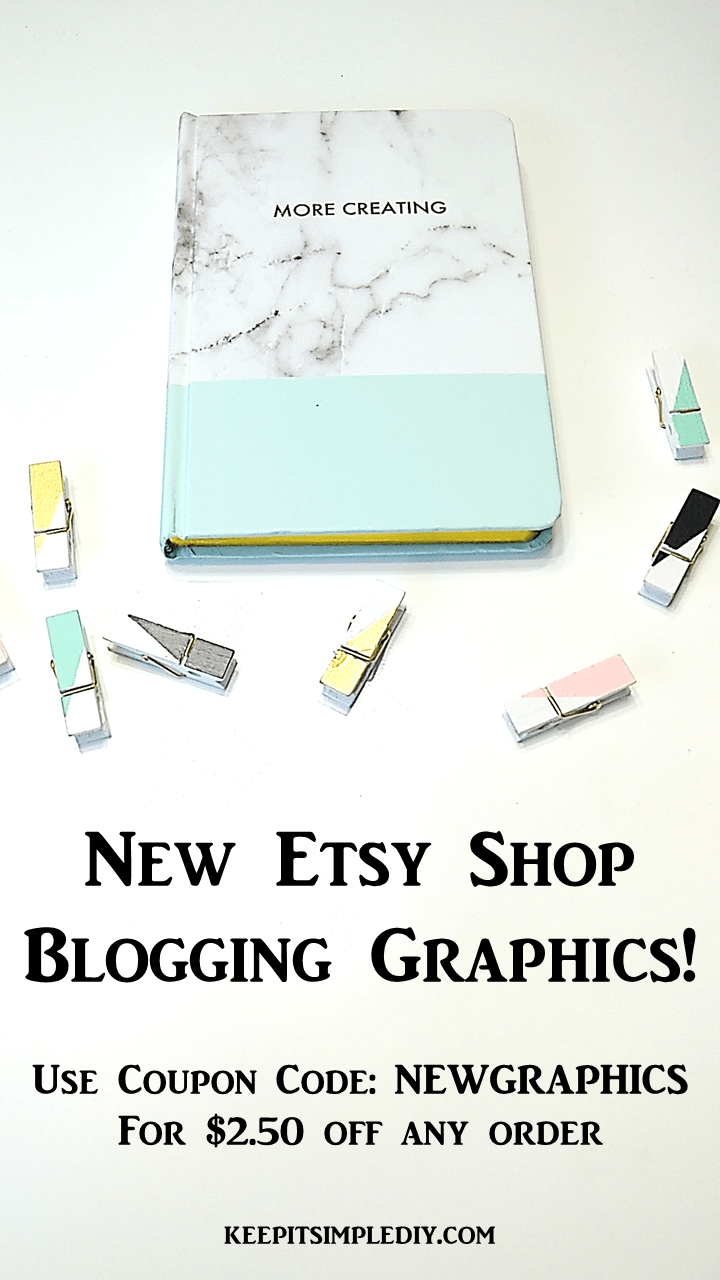 New Etsy Graphics