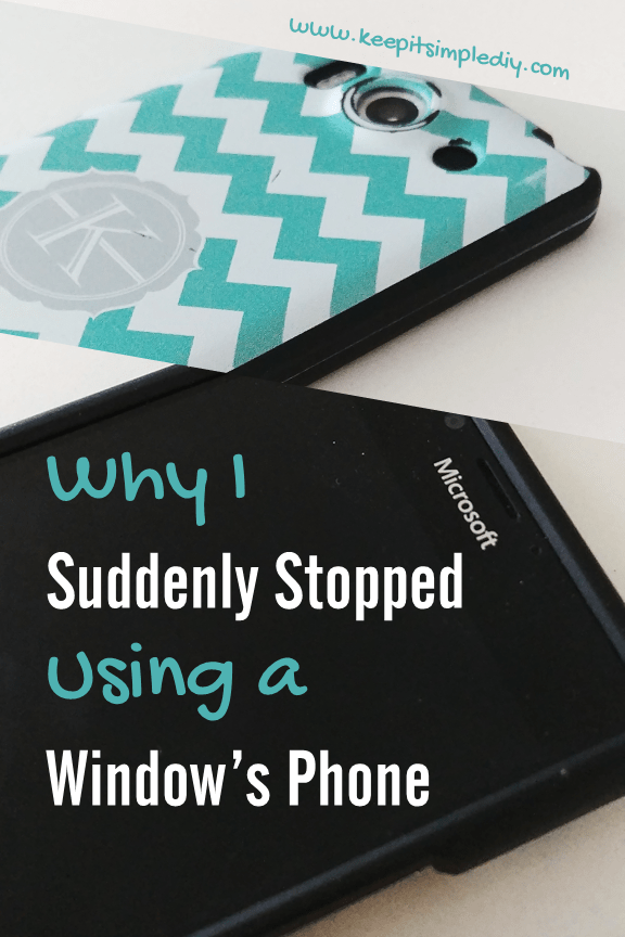 Secrets Why I Suddenly Stopped Using a Windows Phone