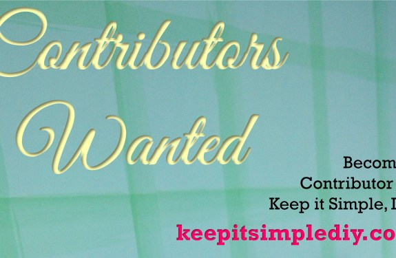 Contributors for Keep it Simple, DIY Wanted