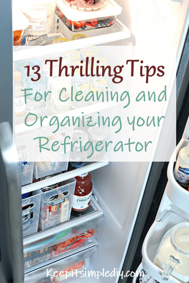 Tips for cleaning your re