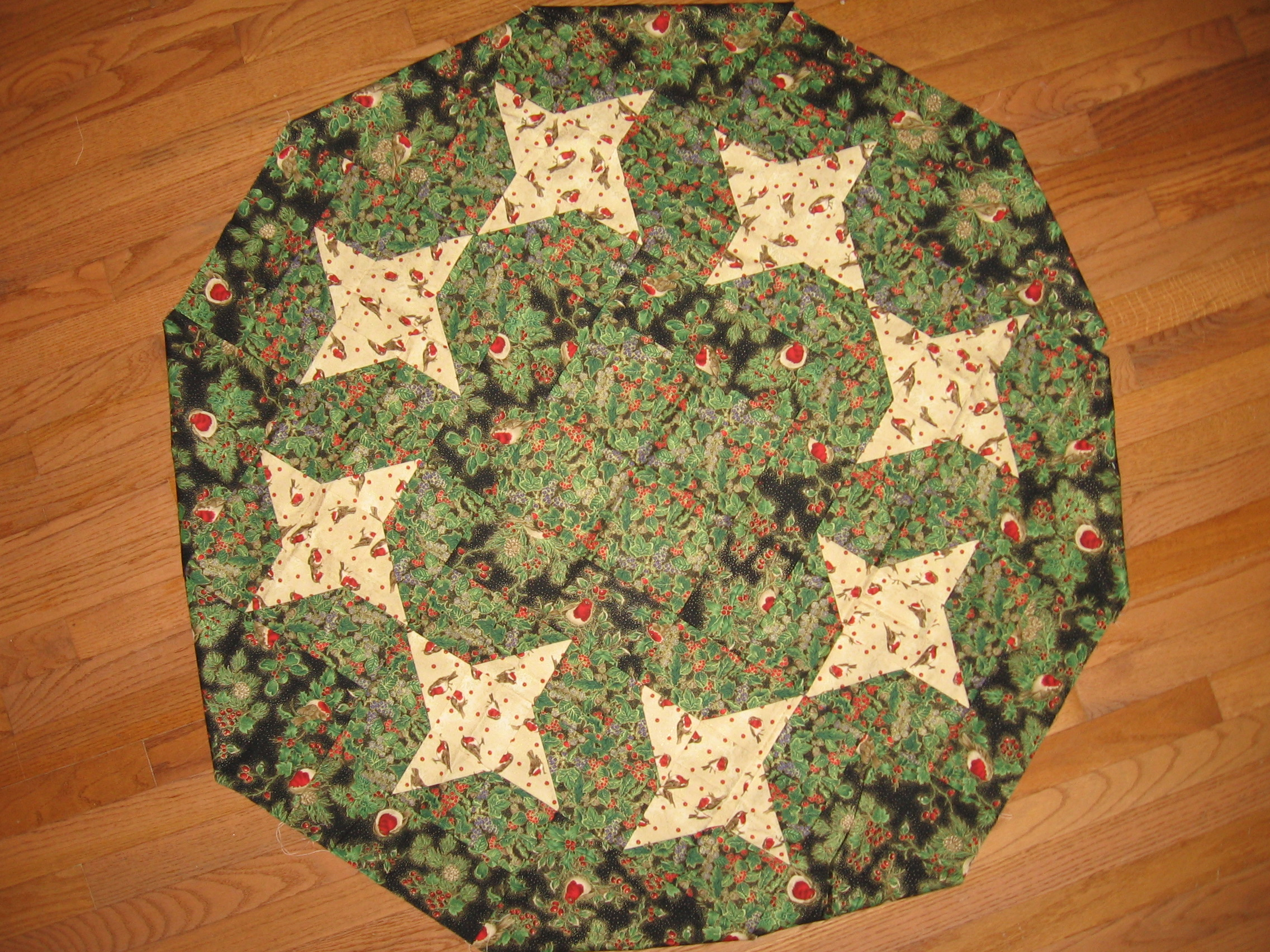 Swirling Stars Tree Skirt