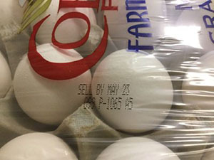 Got Salmonella? You might, if you eat these recalled eggs.
