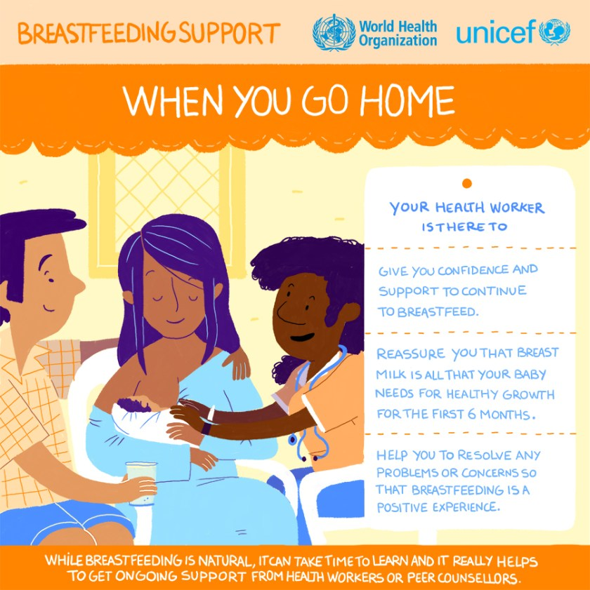 It can help you breastfeed if you get ongoing support.