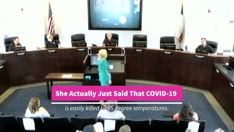 A naturopathic doctor had a lot to say about COVID-19 at this City Council meeting that voted to allow 4th of July activities in the city...