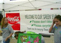The booth of the very first Green Team