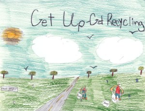 Finalist for the 2009 calendar. Drawn by a Madison County Elementary Student.