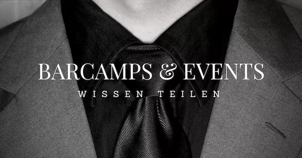 BarCamp & Events Cover neu