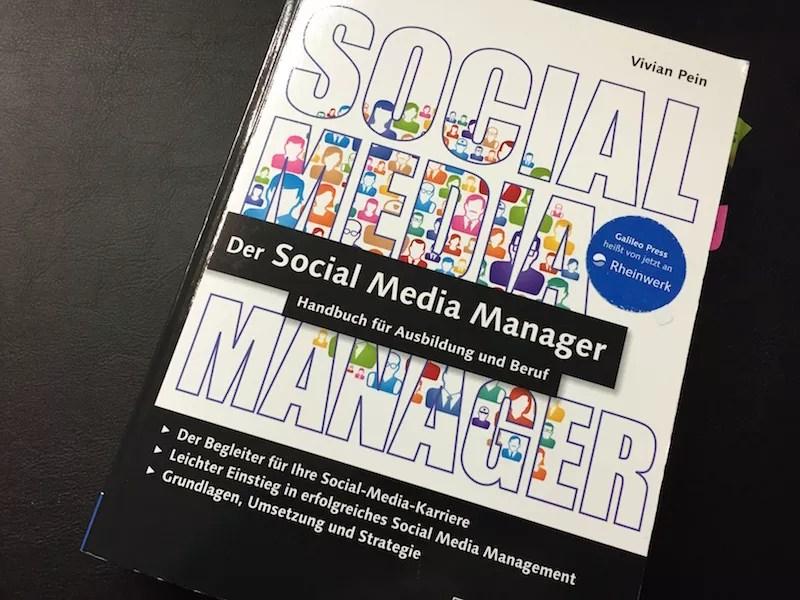 """""""Der Social Media Manager"""" von Vivian Pein"""