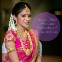 South Indian Wedding Hairstyles Images