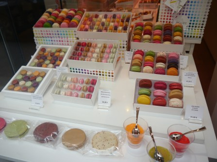Mini Macarons? Truly, my only regret this trip.