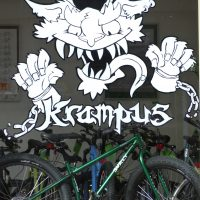 Our window... when the Krampus took over!