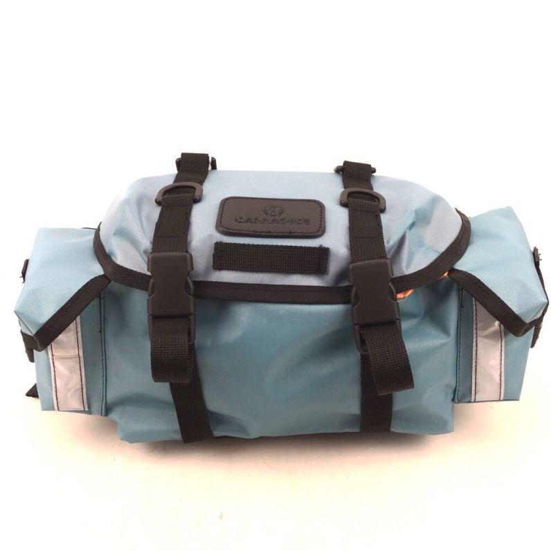 Carradice Lightweight Audax Saddlebag Light Blue